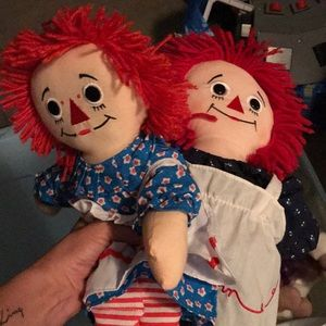 Other - 2 Raggedy Ann Dolls
